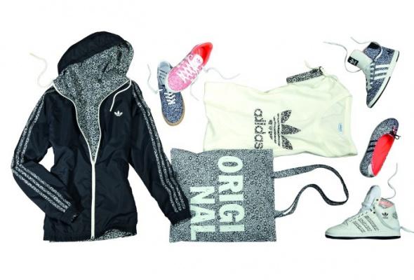 adidas Originals выпустил цветочную коллекцию - Фото №0
