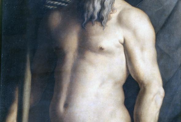 Выставка одной картины. Аньоло Бронзино «Портрет Андреа Дориа в образе Нептуна» - Фото №0