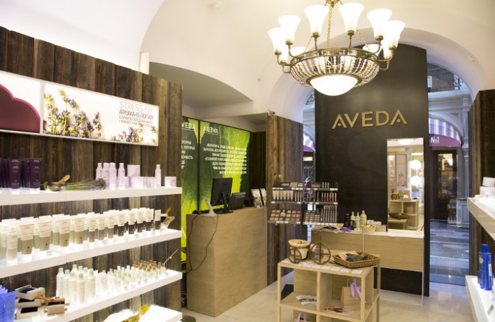 ВArticoli вГУМе открылся корнер Aveda