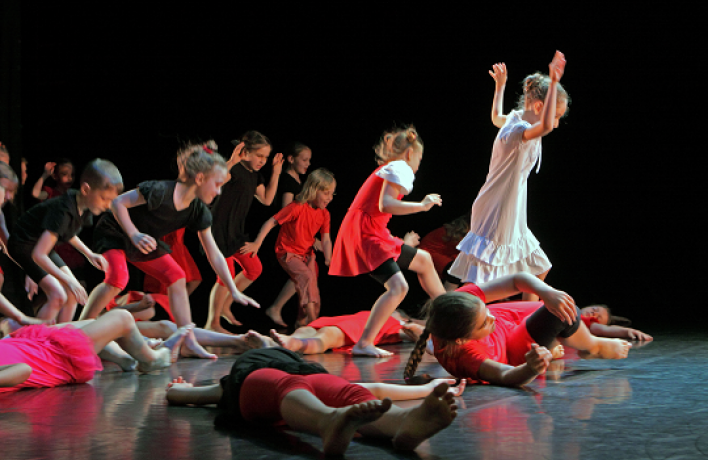 Фестиваль современного танца Dance 4Kids