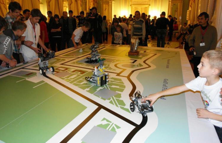 Информатика и робототехника во Дворце Конгрессов