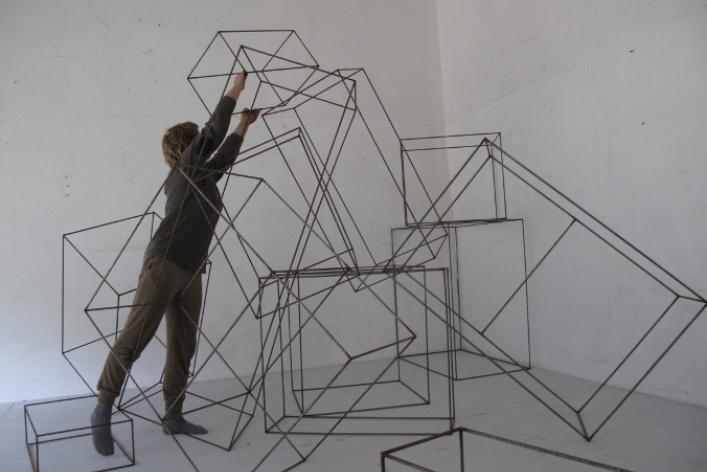 Выставка работ номинантов VIII Всероссийского конкурса в области современного искусства «Инновация»