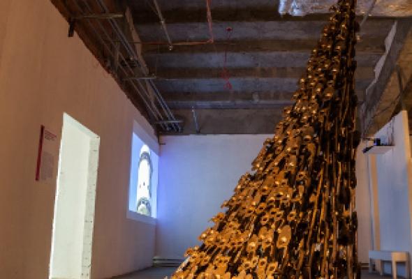 Выставка работ номинантов VIII Всероссийского конкурса в области современного искусства «Инновация» - Фото №1