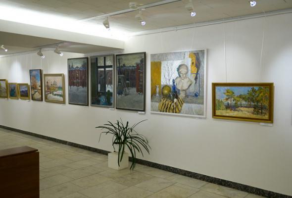 Выставка творческих работ преподавателей Московского педагогического государственного университета - Фото №1