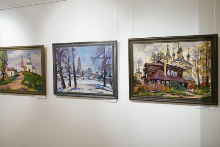 Выставка творческих работ преподавателей Московского педагогического государственного университета