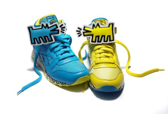 Reebok выпустил кроссовки срисунками Кита Харинга - Фото №0