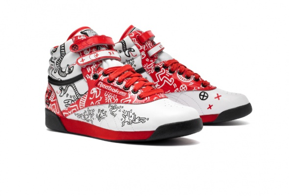 Reebok выпустил кроссовки срисунками Кита Харинга - Фото №2