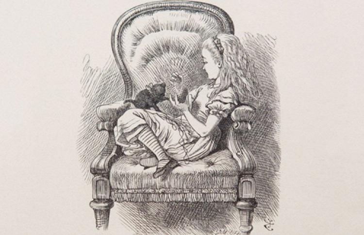 """""""Алиса в стране иллюстрации"""": """"Джон Тенниел, До-до. Начало"""""""