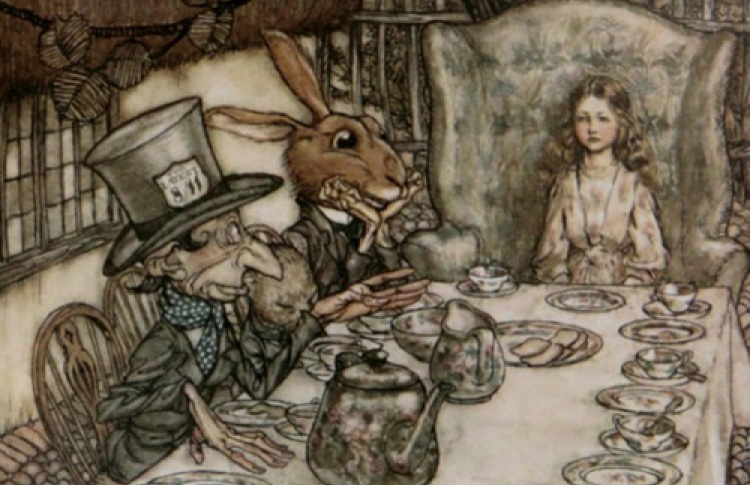 """""""Алиса в стране иллюстрации"""": """"Алиса в Зарубежье"""""""