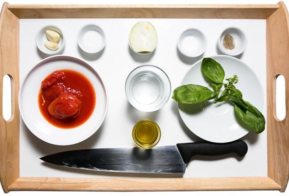 Рецепт: Томатный суп - Фото №1