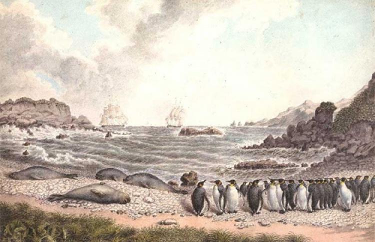 Павел Михайлов. 1786 - 1840. Путешествия к Южному полюсу