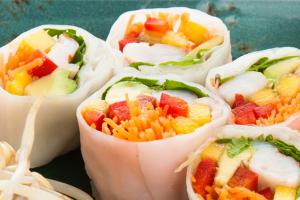 Вегетарианские позиции вменю Buddha-Bar
