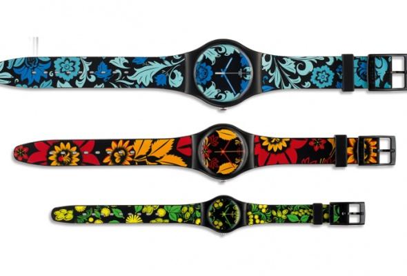 Swatch презентовали часы сматрешкой - Фото №0