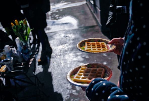 Вафли— это вклеточку печенье - Фото №5
