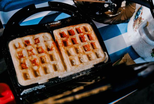 Вафли— это вклеточку печенье - Фото №8