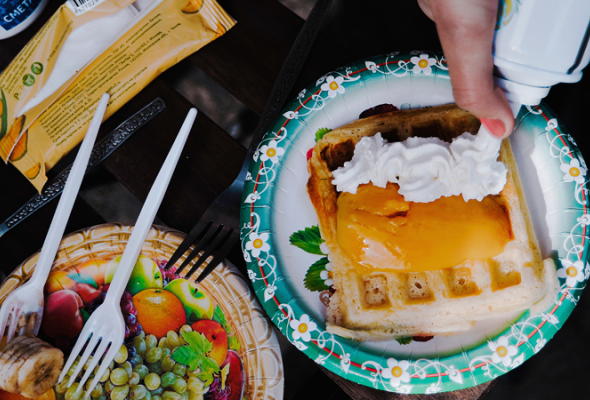 Вафли— это вклеточку печенье - Фото №11