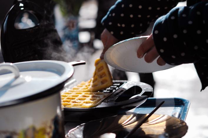 Вафли— это вклеточку печенье