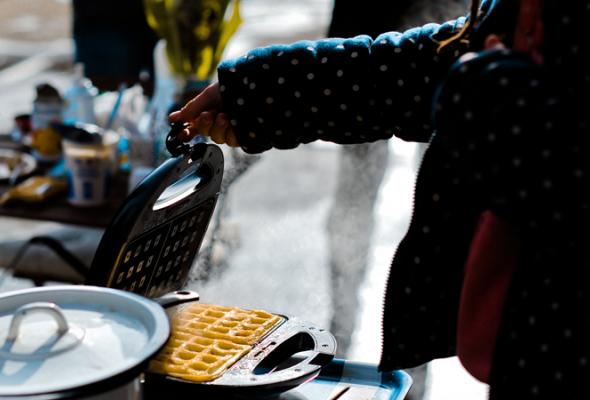 Вафли— это вклеточку печенье - Фото №25
