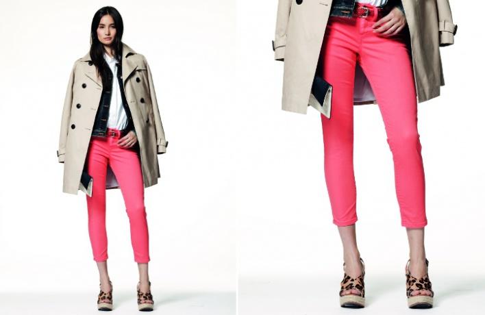 Gap выбирает яркие цвета для летней коллекции