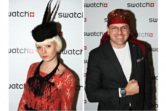 Swatch презентовали часы сматрешкой