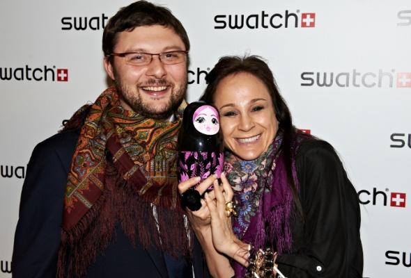 Swatch презентовали часы сматрешкой - Фото №7