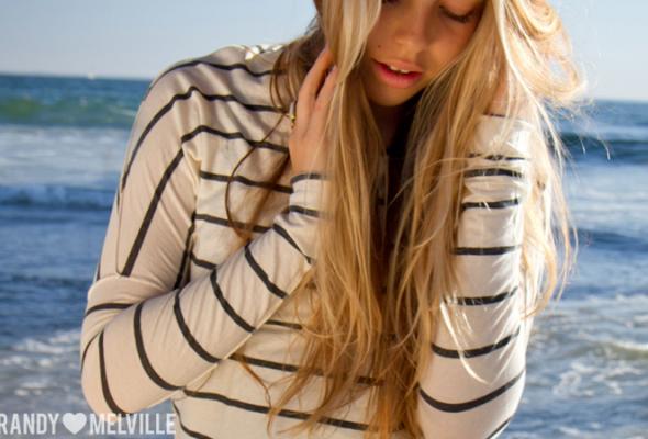 Весенний лукбук Brandy Melville - Фото №14