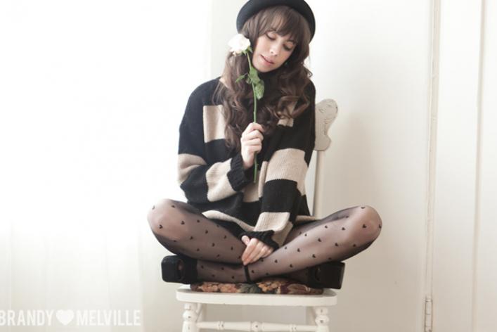 Весенний лукбук Brandy Melville
