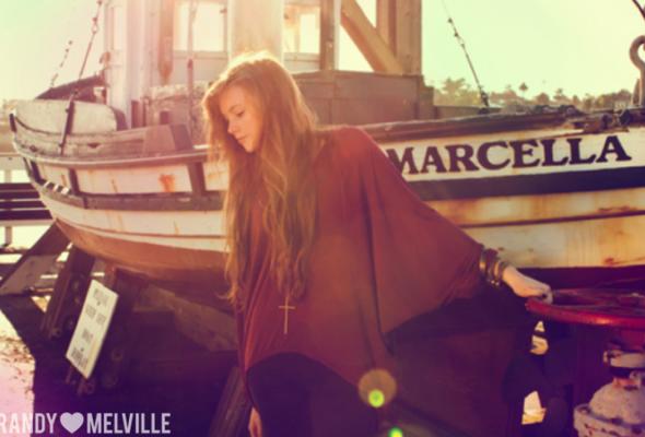 Весенний лукбук Brandy Melville - Фото №22