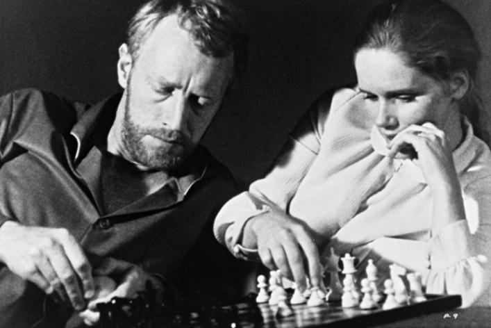 Лив Ульман и Ингмар Бергман
