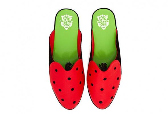 Коллекция домашней обуви «Страсти поСальвадору Дали» - Фото №1