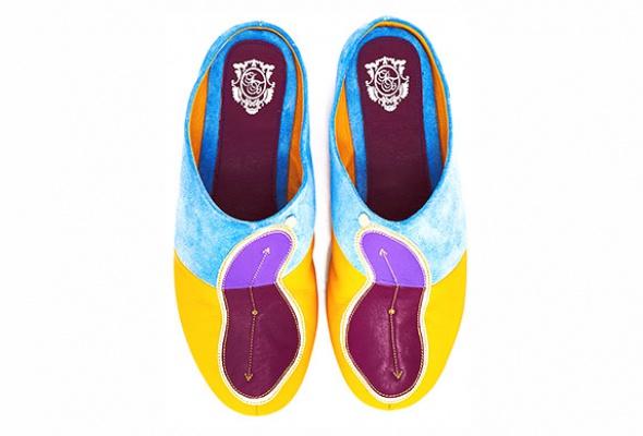Коллекция домашней обуви «Страсти поСальвадору Дали» - Фото №6
