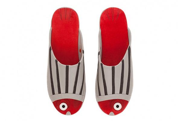 Коллекция домашней обуви «Страсти поСальвадору Дали» - Фото №10