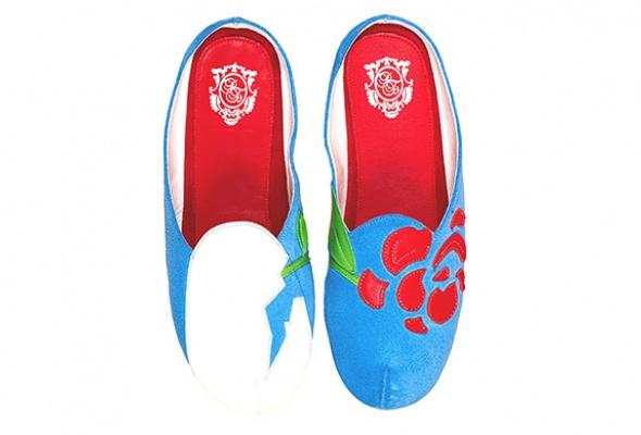Коллекция домашней обуви «Страсти поСальвадору Дали» - Фото №16