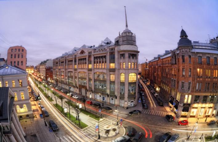 Обновленный Петербург