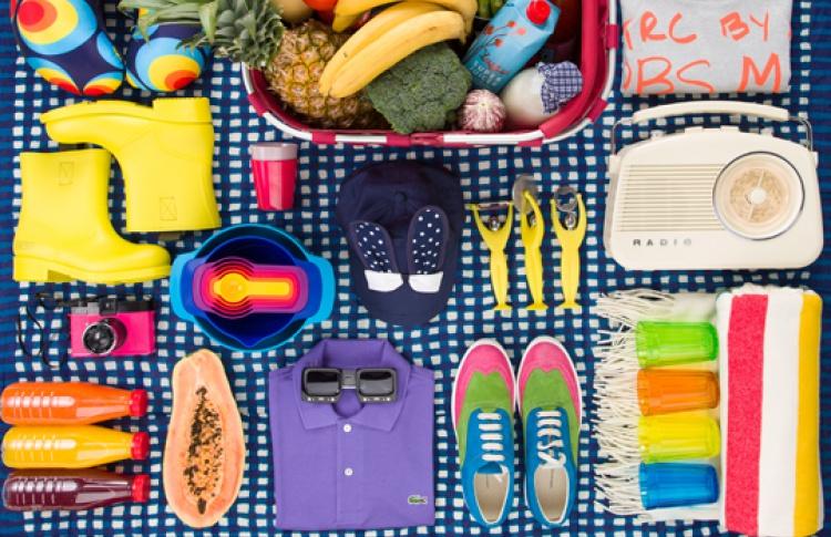 Отпускной шопинг в «Цветном»