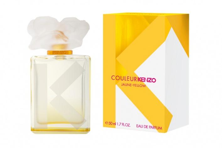 Kenzo выпускает цветную коллекцию женских ароматов Couleur
