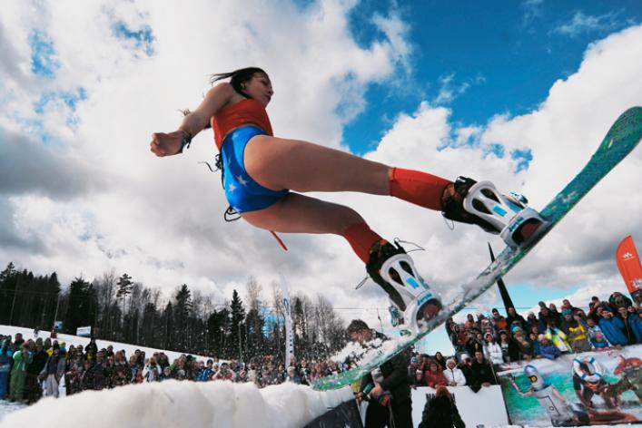 Аква-шоу Jump & Freeze
