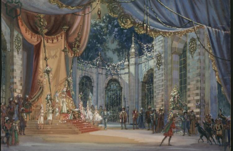 Живописный мир балетов П. И. Чайковского