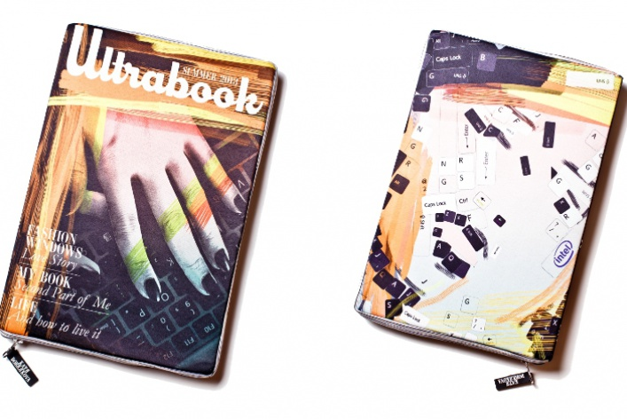 Дизайнер Катя Добрякова создала клатчи для Ultrabook™