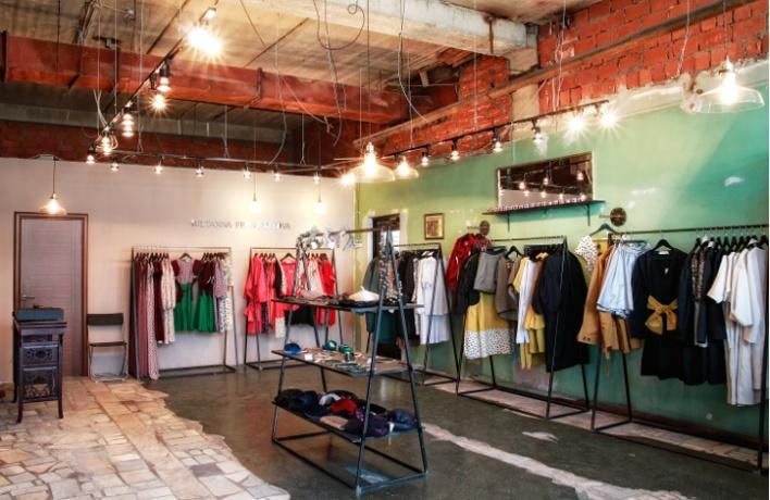 Открытие первого магазина Sultanna Frantsuzova вформате pop up