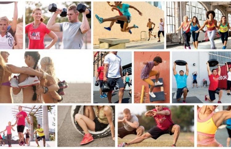 Фитнес-марафон от Reebok