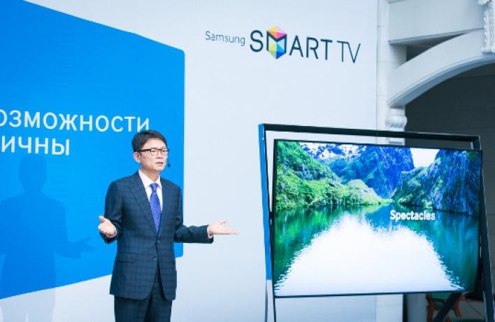 Компания Samsung представяет новую линейку телевизоров Smart TV