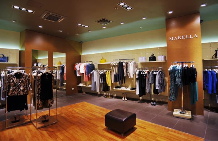 Новый магазин Marella