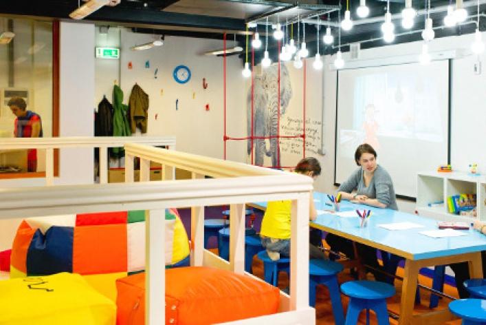 Детский центр «Шардам» в ТРЦ Атриум