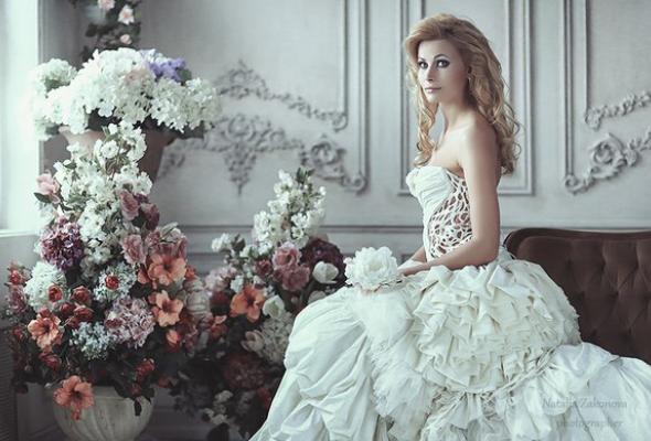 25свадебных платьев петербургских дизайнеров - Фото №6