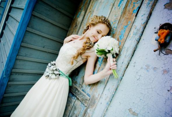 25свадебных платьев петербургских дизайнеров - Фото №12