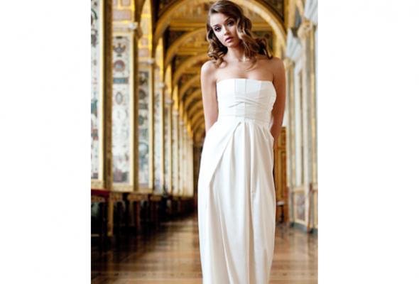 25свадебных платьев петербургских дизайнеров - Фото №17