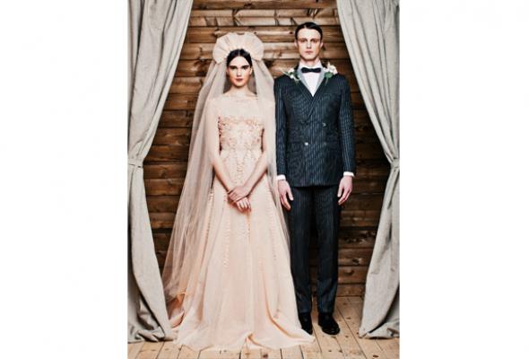 25свадебных платьев петербургских дизайнеров - Фото №1