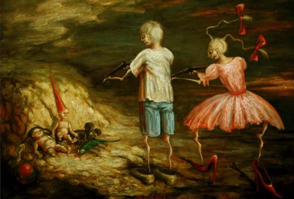 Дети в искусстве - Фото №0