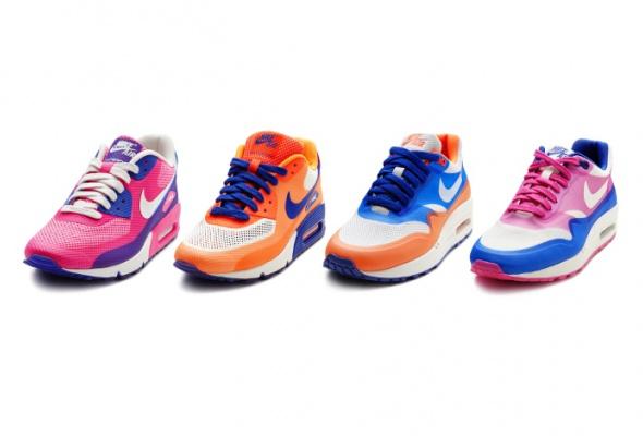 Nike перекрасил кроссовки Air Max 1иAir Max 90 - Фото №0